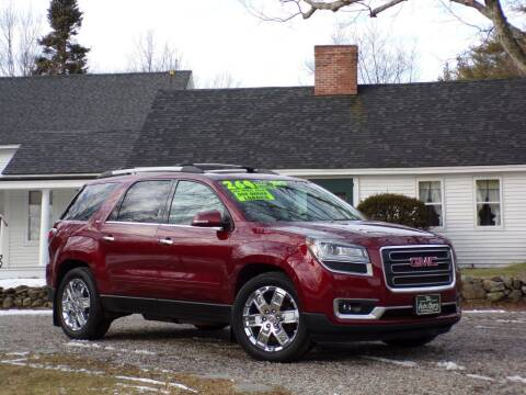 2017 GMC Acadia Limited for sale at The Auto Barn in Berwick ME