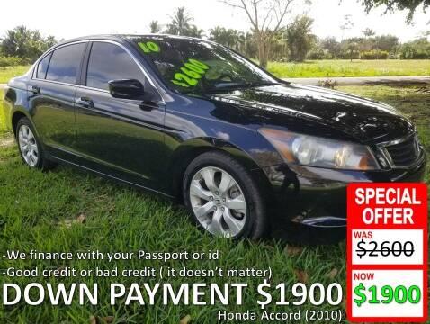 2010 Honda Accord for sale at AUTO COLLECTION OF SOUTH MIAMI in Miami FL
