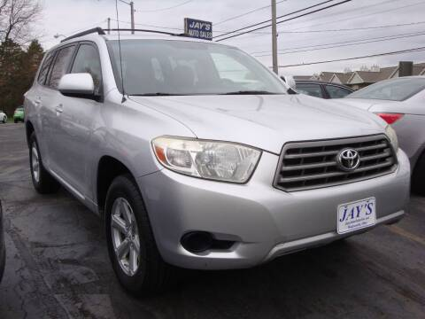 2008 Toyota Highlander for sale at Jay's Auto Sales Inc in Wadsworth OH