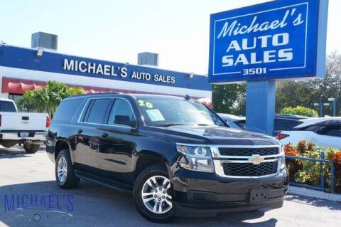 2020 Chevrolet Suburban for sale at Michael's Auto Sales Corp in Hollywood FL