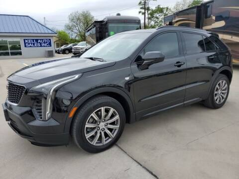 2019 Cadillac XT4 for sale at Kell Auto Sales, Inc - Grace Street in Wichita Falls TX