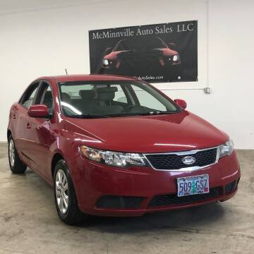 2013 Kia Forte for sale at McMinnville Auto Sales LLC in Mcminnville OR