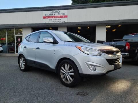 2011 Hyundai Tucson for sale at Landes Family Auto Sales in Attleboro MA