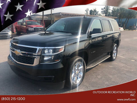 2017 Chevrolet Tahoe for sale at Outdoor Recreation World Inc. in Panama City FL