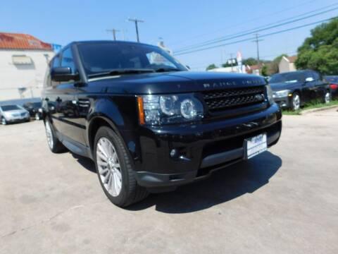 2013 Land Rover Range Rover Sport for sale at AMD AUTO in San Antonio TX