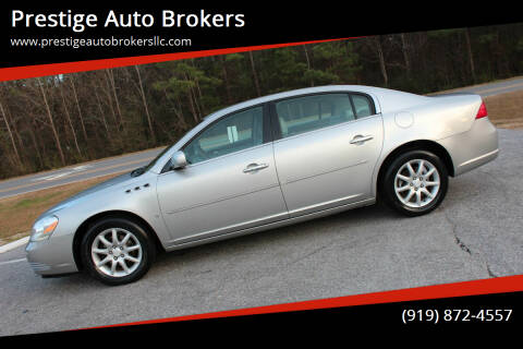 2008 Buick Lucerne for sale at Prestige Auto Brokers in Raleigh NC