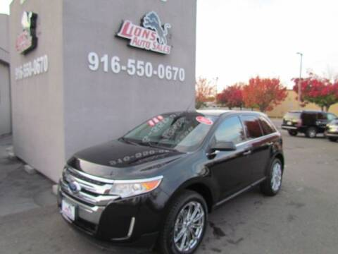 2011 Ford Edge for sale at LIONS AUTO SALES in Sacramento CA