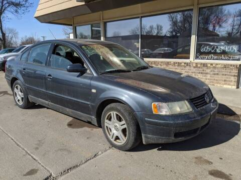 2000 Volkswagen Passat for sale at Second Chance Auto in Sioux Falls SD