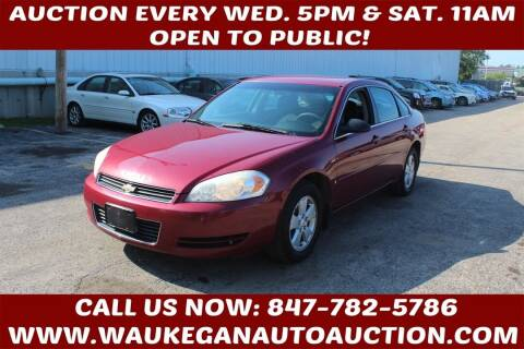 2006 Chevrolet Impala for sale at Waukegan Auto Auction in Waukegan IL
