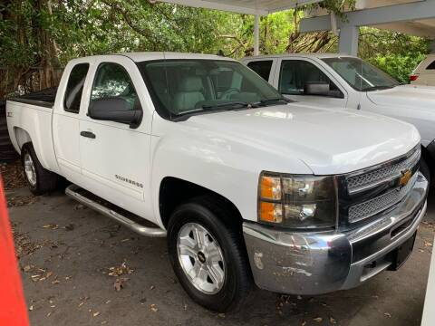 2013 Chevrolet Silverado 1500 for sale at America Auto Wholesale Inc in Miami FL