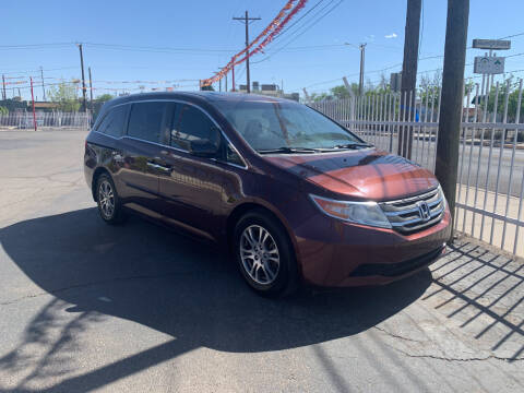 2013 Honda Odyssey for sale at Robert B Gibson Auto Sales INC in Albuquerque NM