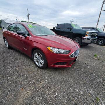 2018 Ford Fusion Hybrid for sale at ALL WHEELS DRIVEN in Wellsboro PA