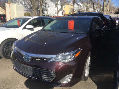 2014 Toyota Avalon Hybrid for sale at MELILLO MOTORS INC in North Haven CT