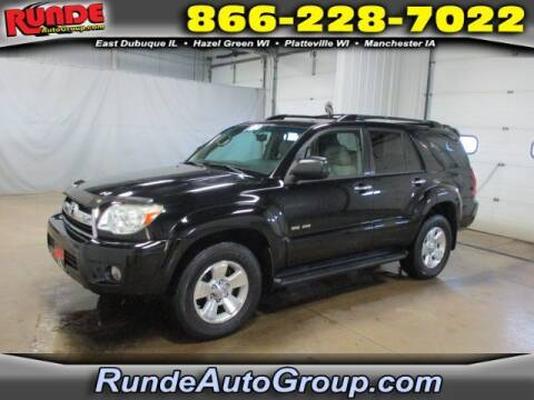 2008 Toyota 4Runner for sale at Runde Chevrolet in East Dubuque IL