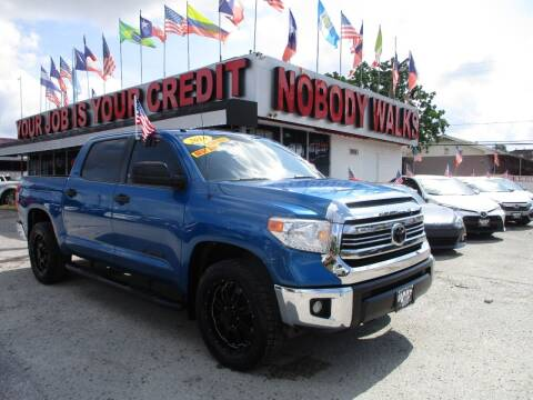 2016 Toyota Tundra for sale at Giant Auto Mart 2 in Houston TX