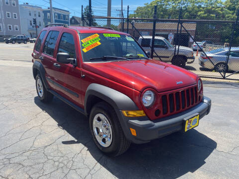 2006 Jeep Liberty for sale at Adams Street Motor Company LLC in Dorchester MA