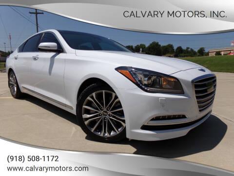 2015 Hyundai Genesis for sale at Calvary Motors, Inc. in Bixby OK
