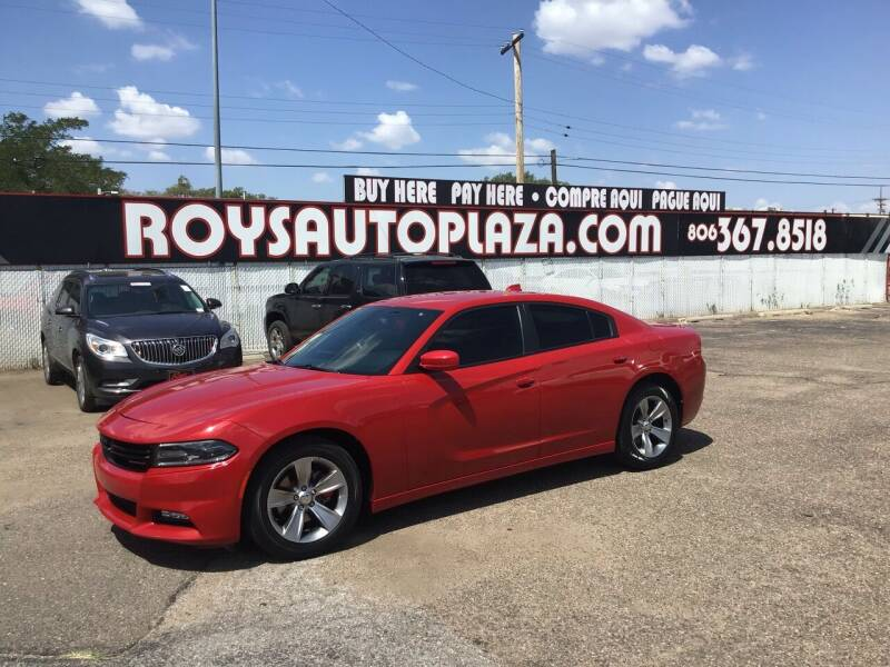 2015 Dodge Charger for sale at Roy's Auto Plaza 2 in Amarillo TX