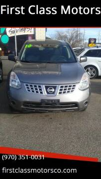 2010 Nissan Rogue for sale at First Class Motors in Greeley CO