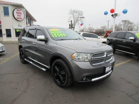 2012 Dodge Durango for sale at Auto Land Inc in Crest Hill IL