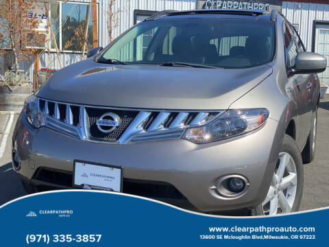 2009 Nissan Murano for sale at CLEARPATHPRO AUTO in Milwaukie OR