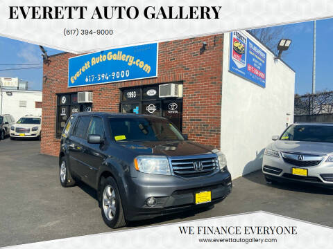 2013 Honda Pilot for sale at Everett Auto Gallery in Everett MA