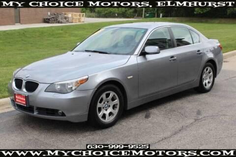 2004 BMW 5 Series for sale at My Choice Motors Elmhurst in Elmhurst IL