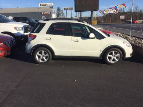 2007 Suzuki SX4 Crossover for sale at Hometown Auto Repair and Sales in Finksburg MD