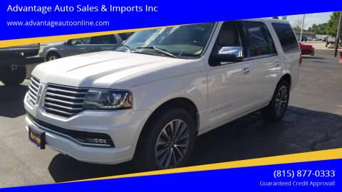 2015 Lincoln Navigator for sale at Advantage Auto Sales & Imports Inc in Loves Park IL