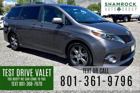 2017 Toyota Sienna for sale at Shamrock Group LLC #1 in Pleasant Grove UT