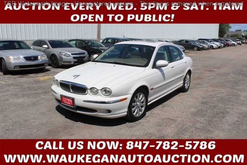 2003 Jaguar X-Type for sale at Waukegan Auto Auction in Waukegan IL