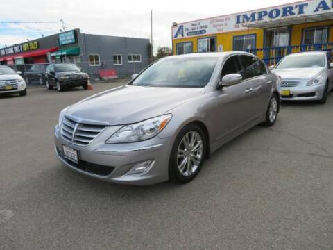 2012 Hyundai Genesis for sale at Import Auto World in Hayward CA