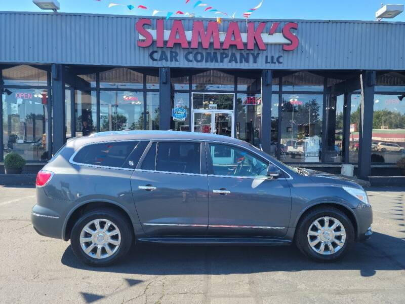 2013 Buick Enclave for sale at Siamak's Car Company llc in Salem OR