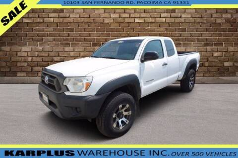 2014 Toyota Tacoma for sale at Karplus Warehouse in Pacoima CA
