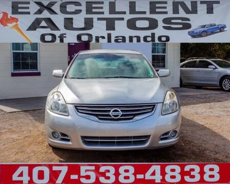 2011 Nissan Altima for sale at Excellent Autos of Orlando in Orlando FL