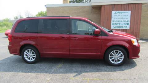 2014 Dodge Grand Caravan for sale at LENTZ USED VEHICLES INC in Waldo WI