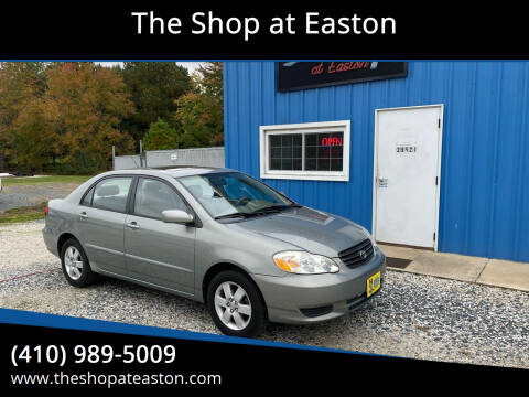 2003 Toyota Corolla for sale at The Shop at Easton in Easton MD