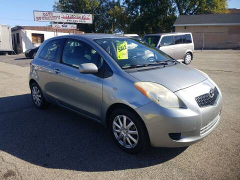 2007 Toyota Yaris for sale at Dave Ducharme's Auto Sales in Lowell MA