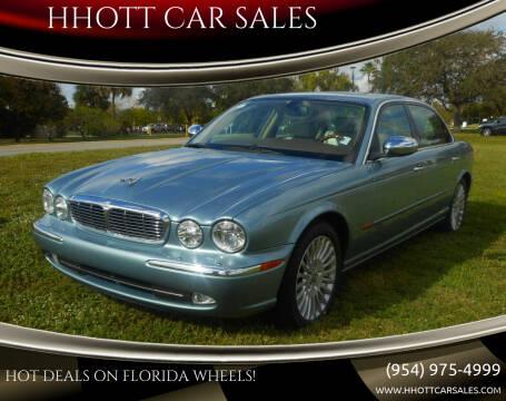 2005 Jaguar XJ-Series for sale at HHOTT CAR SALES in Deerfield Beach FL