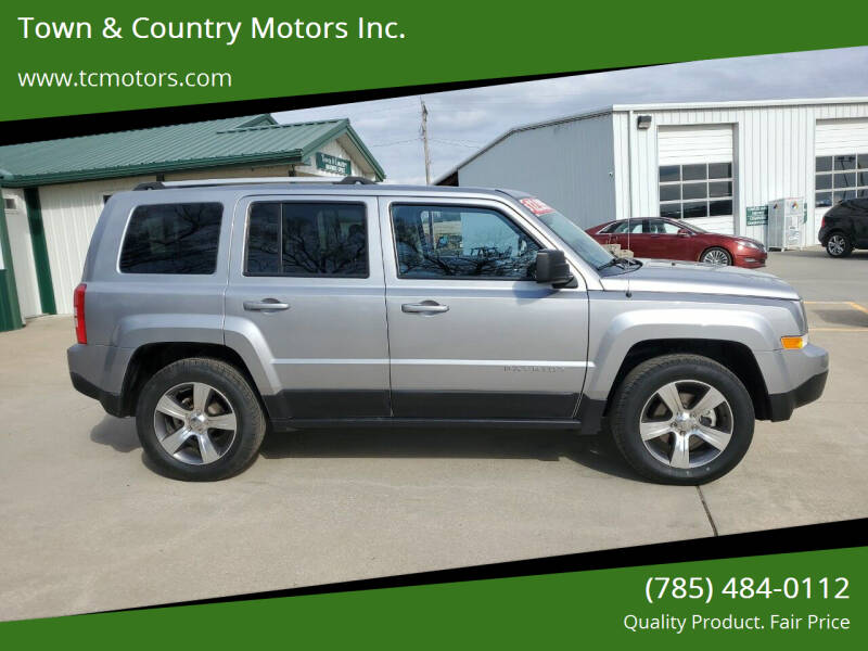 2016 Jeep Patriot for sale at Town & Country Motors Inc. in Meriden KS