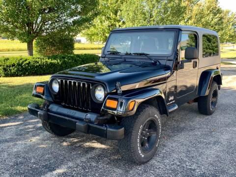2005 Jeep Wrangler for sale at Geneva Motorcars LLC in Delavan WI