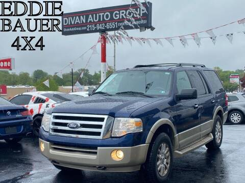 2010 Ford Expedition for sale at Divan Auto Group in Feasterville PA