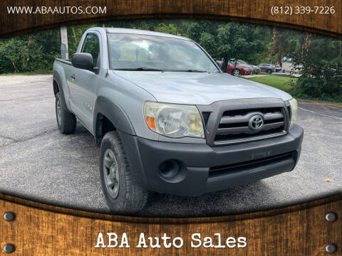 2006 Toyota Tacoma for sale at ABA Auto Sales in Bloomington IN