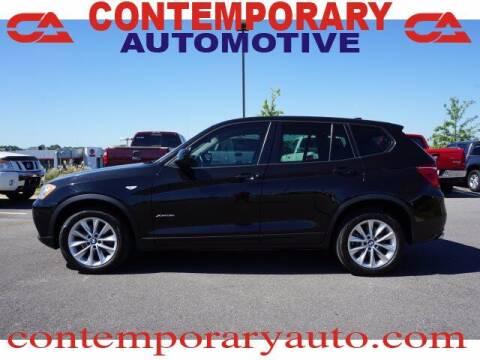 2014 BMW X3 for sale at Contemporary Auto in Tuscaloosa AL