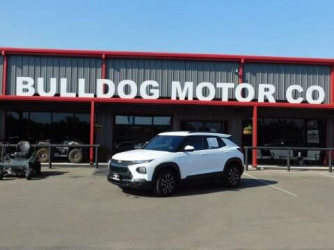 2021 Chevrolet TrailBlazer for sale at Bulldog Motor Company in Borger TX