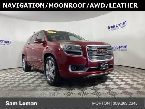 2013 GMC Acadia for sale at Sam Leman CDJRF Morton in Morton IL