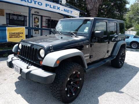 2011 Jeep Wrangler Unlimited for sale at RICKY'S AUTOPLEX in San Antonio TX