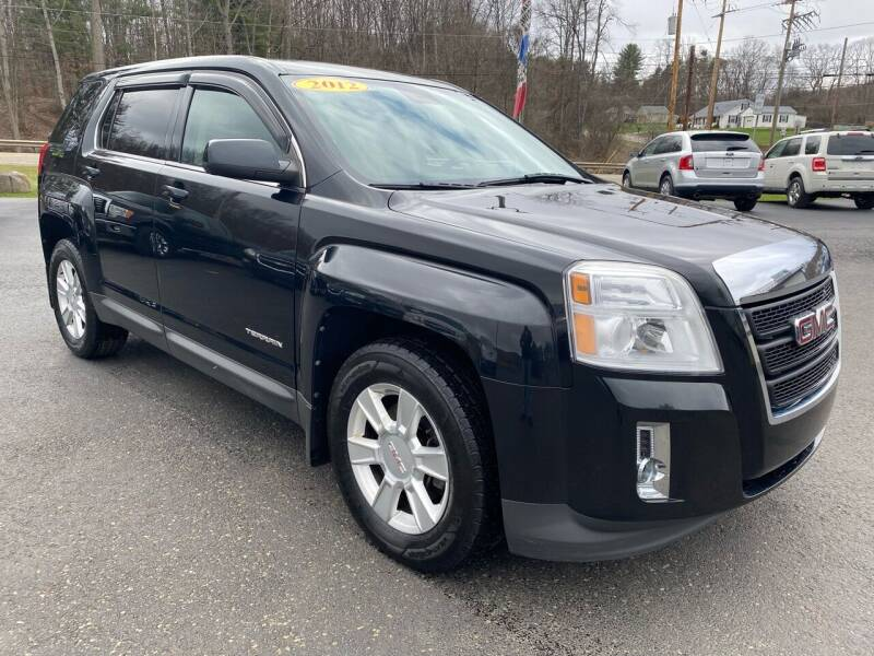 2012 GMC Terrain for sale at Pine Grove Auto Sales LLC in Russell PA