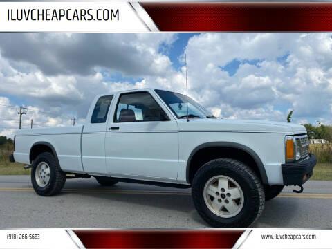 1991 Chevrolet S-10 for sale at ILUVCHEAPCARS.COM in Tulsa OK