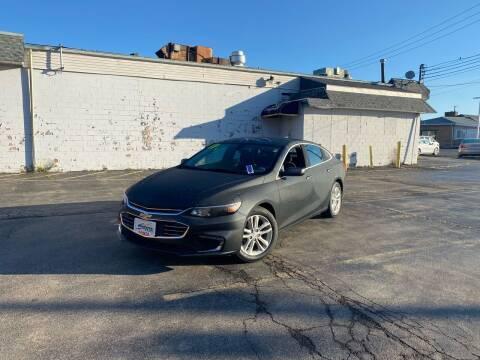 2017 Chevrolet Malibu for sale at Santa Motors Inc in Rochester NY
